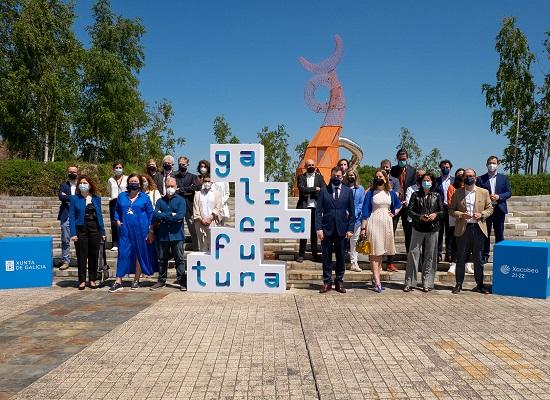 13,00 h.-    O conselleiro de Cultura, Educación e Universidade, Román Rodríguez, presentará Galicia futura, a terceira exposición conmemorativa do Xacobeo 21-22. No salón de convencións do Edificio CINC (Monte Gaiás, s/n).  foto xoán crespo 31/05/2021